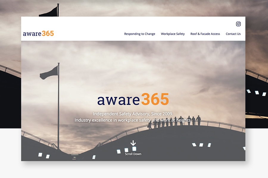 aware365-landing-page-website-hobart-tasmania