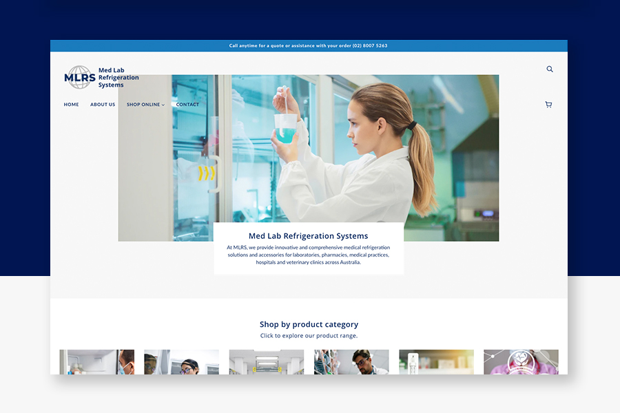 ecommerce-start-up-med-lab-shopify-design-sydney
