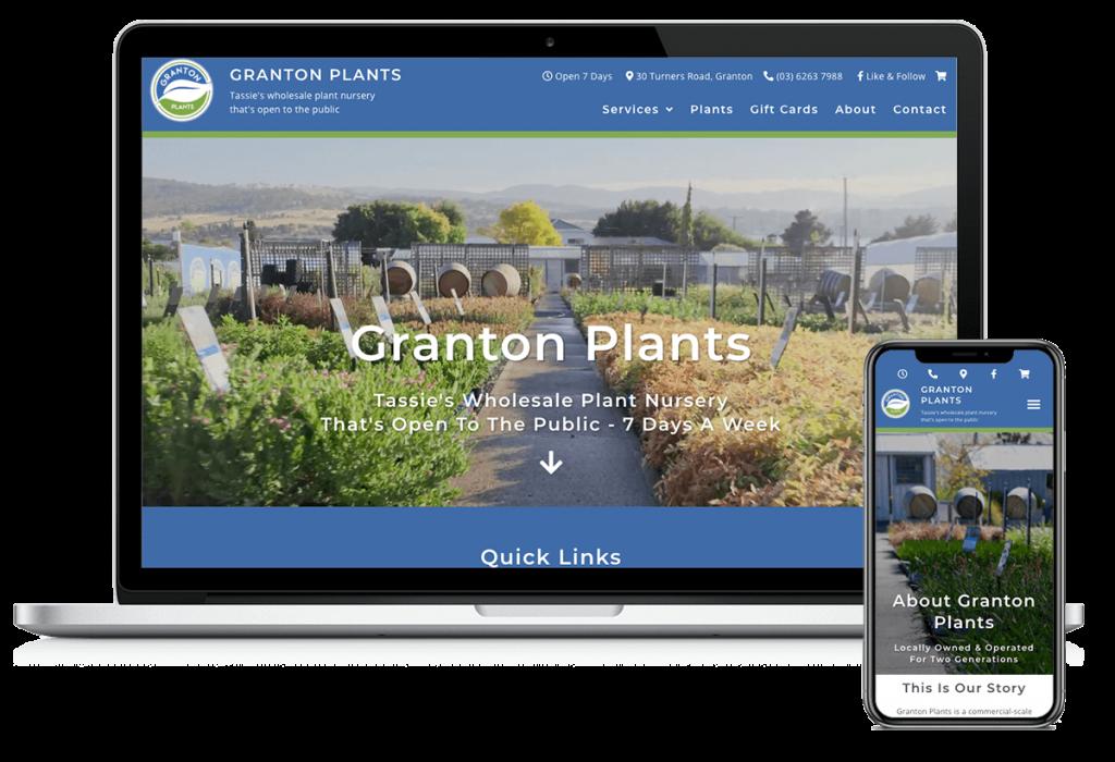 granton-plants-nursery-hobart-tasmania-launceston-website-design