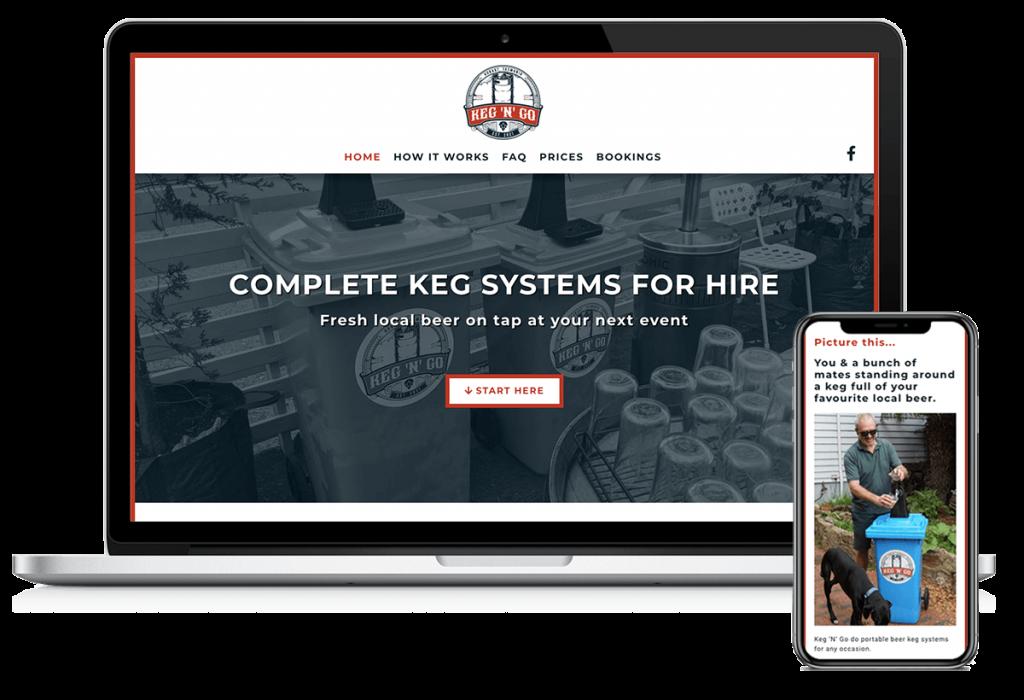 keg-n-go-beer-hire-party-hobart-tasmania-website-design-home-brew